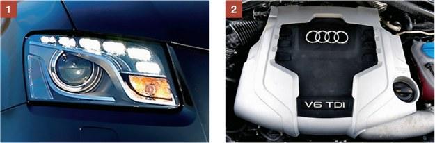 [1] Popularną usterką modelu są awarie reflektorów przednich - psują się moduły LED. [2] Trzylitrowy diesel generalnie się sprawdza, ale - uwaga - jest bardzo drogi w naprawach. /Motor