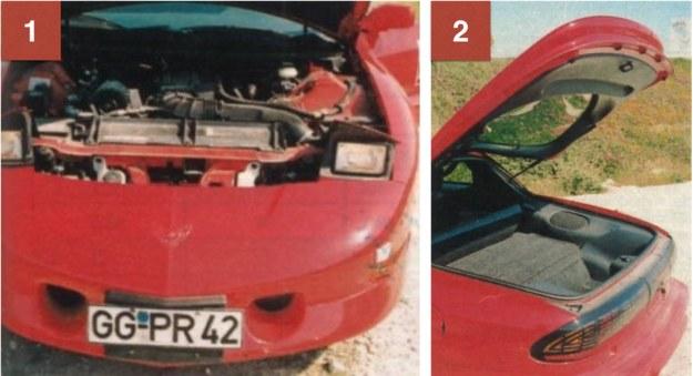 """1. Silnik LT1 pochodzący z Chevroleta Corvette wepchnięty jest w głąb kabiny pasażerskiej i """"oddycha"""" dwoma niewielkimi okrągłymi wlotami powietrza. Niezbyt silne reflektory po wysunięciu szpecą niestety sylwetkę auta, tak jak i wyglądające na przyczepione światła pozycyjne. 2. Bagażnik byłby dużo większy, gdyby zbiornik paliwa i koło zapasowe schowano głębiej. /Motor"""