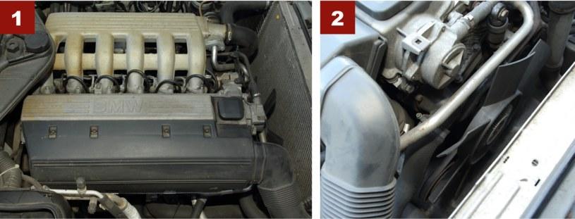 [1] Silnik tds ma sporo typowych awarii: psuje się pompa EDC, łańcuch rozrządu, cieknie olej... [2] Uszkodzenia sprzęgła wentylatora chłodnicy to popularna usterka w starszych BMW. /Motor