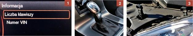 """[1] Skrzynia automatyczna w dieslu wytrzymuje ok. 200 000 km. [2] Aby wyjąć reflektor, wystarczy zwolnić dwa małe zaczepy. [3] """"Liczba klawiszy"""" to błąd w tłumaczeniu, chodzi o liczbę... kluczyków (""""number of keys""""). /Motor"""