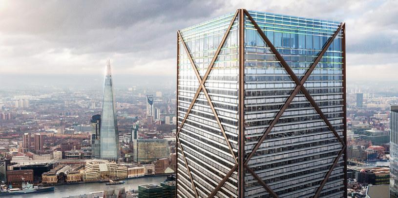 1 Undershaft będzie najwyższym budynkiem londyńskiego City /materiały prasowe