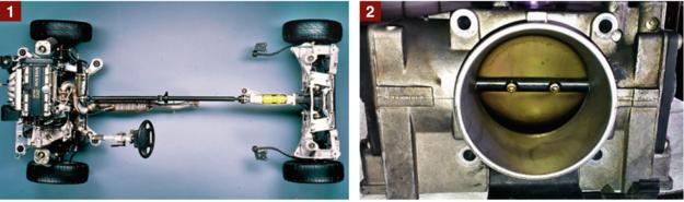 [1] Uszkodzenie wału napędowego i przekładni kątowej w AWD: koszt naprawy to kilka tys. zł. [2] Moduł elektronicznej przepustnicy występuje tylko w modelach z lat 1999-2000. /Motor