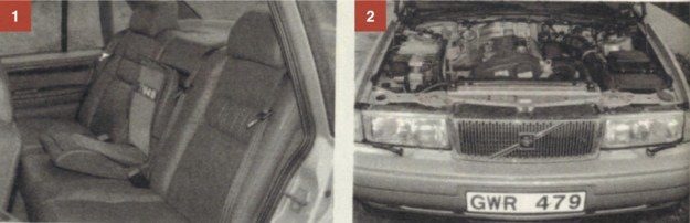 [1] Z tyłu samochód oferuje wygodne miejsca dla 2 dorosłych osób i jedno bardzo bezpieczne dla dziecka. [2] Pod długą ze wspomaganiem uchylaną pokrywą wzdłużnie osadzane są maksymalnie cofnięte silniki R6. Mają one aluminiowy kadłub i 2-wałkową, 24-zaworową głowicę. Wał obraca się w 7 podporach, a tłoki pracują w stalowych tulejach. 6-cylindrowe jednostki od niedawna występują w wersji 3.0- i 2.5-litrowej. /Motor