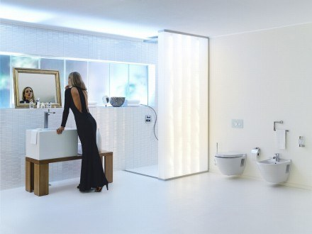 Pomysł Na łazienkę Gwiazdy Kobieta W Interiapl
