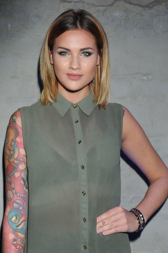 Tatuaż Karoliny Gilon Stylpl Twoja Inspiracja Moda
