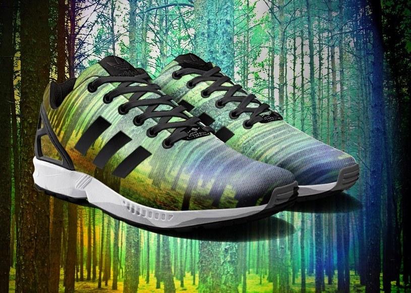 Personalizowane buty adidas Originals ZX Flux