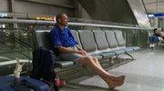10 dni czekał na lotnisku na poznaną w sieci dziewczynę. Nie przyszła