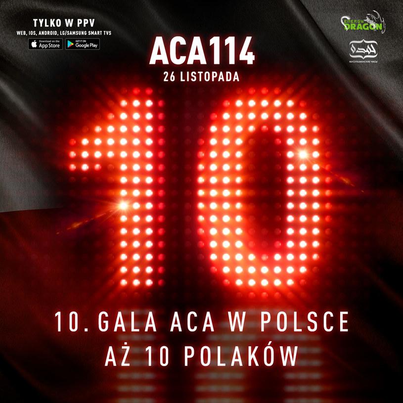 10. gala ACA odbędzie się w Łodzi /Informacja prasowa