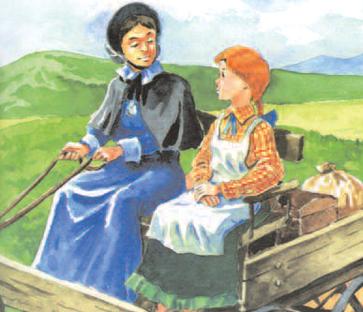 10 Ilustracja do Anii z Zielonego Wzgórza 10 Ilustracja do Anii z Zielonego Wzgórza /Encyklopedia Internautica
