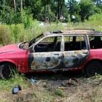 10-latkowie dla zabawy spalili auto