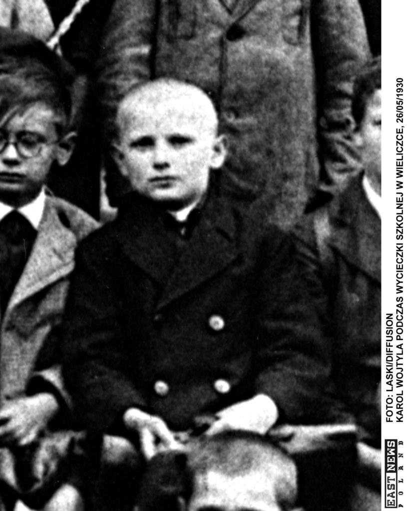 10-letni Karol Wojtyła /Laski Diffusion /East News