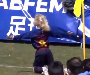 10-letni Polak z Barcelony znów zabłysnął. Strzelił gola Realowi