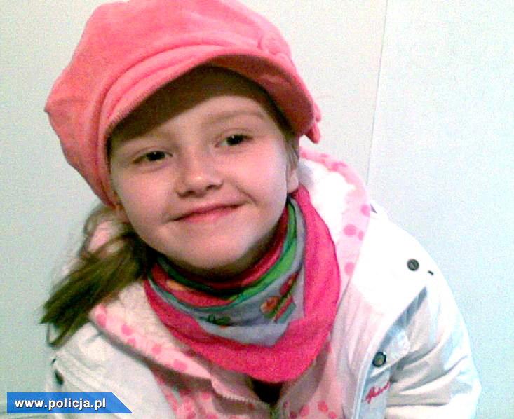 10-letnia Maja z Wołczkowa pod Szczecinem została odbnaleziona w Niemczech /PAP