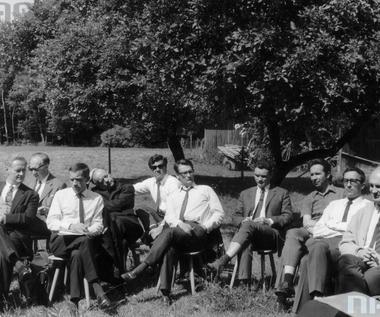 10 marca 1971 r. Konferencja prasowa Andrzeja Czechowicza