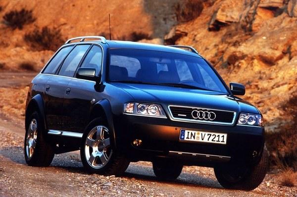 Audi A6 Allroad (2000-2005), indeks niezawodności: 502