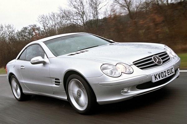 Mercedes SL (2002-2011), indeks niezawodności: 555