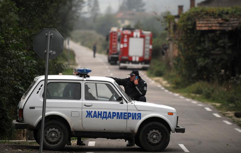 10 nielegalnych migrantów zginęło w wypadku drogowym pod Sofią (zdjęcie ilustracyjne) /NIKOLAY DOYCHINOV  /AFP