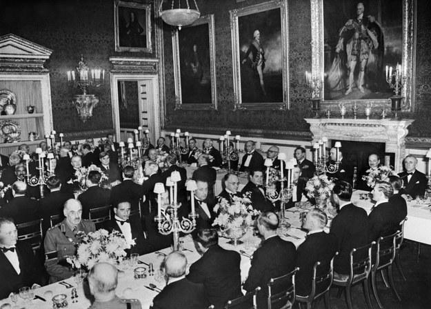 10 stycznia 1946, uroczysta kolacja dla delegatów /AFP /AFP