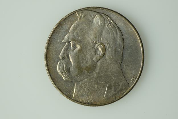 10 złotych z 1934 r., projekt St. Ostrowski /Informacja prasowa