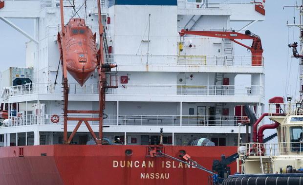 100 kilogramów kokainy na pokładzie statku. Wśród zatrzymanych Polacy