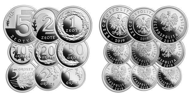 100 lat złotego, seria monet srebrnych /NBP