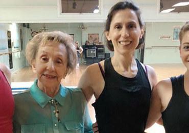 100-letnia instruktorka tańca radzi, jak żyć długo i szczęśliwie