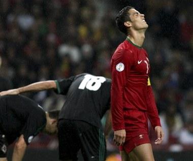 100. mecz Ronalda w reprezentacji, Portugalia bliska kompromitacji