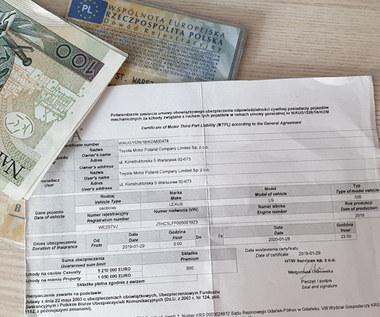 100 milionów złotych kar za brak OC. rośnie wykrywalność nieubezpieczonych