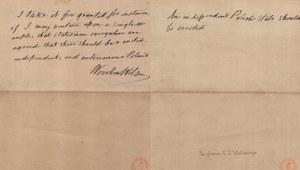 """100 rocznica orędzia Wilsona: """"Należy stworzyć niezawisłe państwo polskie"""""""