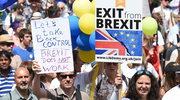 """100 tysięcy osób w Londynie protestowało przeciwko Brexitowi. """"Żądamy prawa głosu dla narodu"""""""