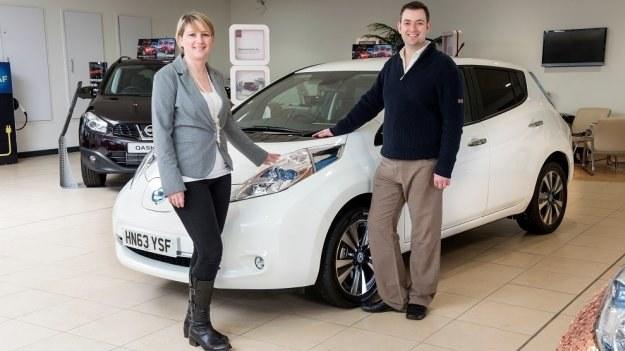 100-tysięczny Nissan Leaf /Nissan