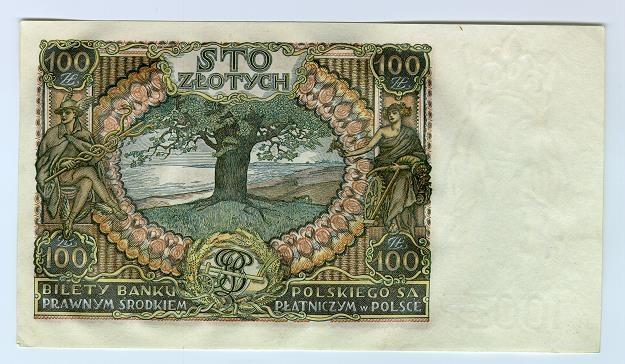 100 złotych z 1932 r., projekt J. Mehoffer /Informacja prasowa