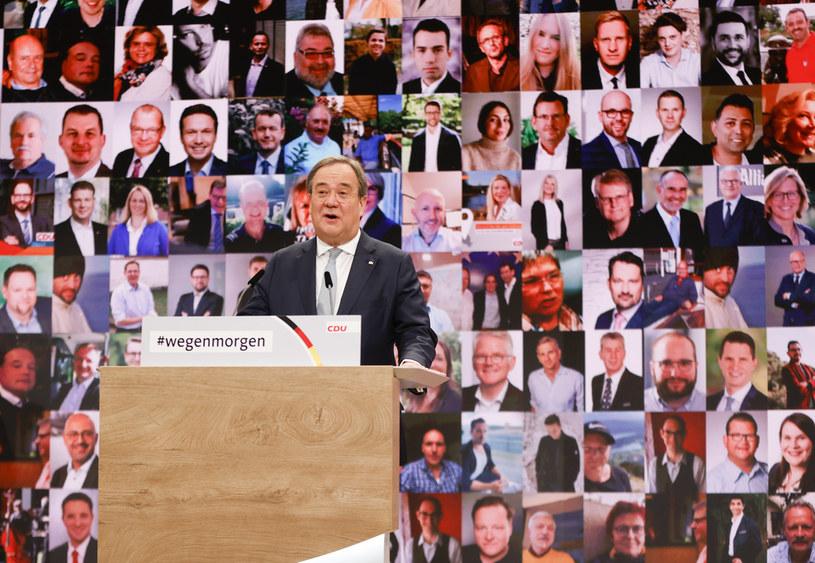 1001 delegatów wybrało Armina Lascheta na nowego przewodniczącego niemieckiej CDU /AFP