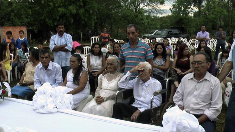 103-letni Jose Manuela Riella i jego 99-letnia partnerka Martina Lopez /AFP