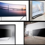 105-calowy Bendable UHD i 17 wygiętych telewizorów Samsunga