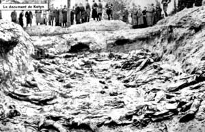 11 kwietnia 1943 r. Niemcy informują oficjalnie o znalezieniu grobów polskich oficerów w Katyniu