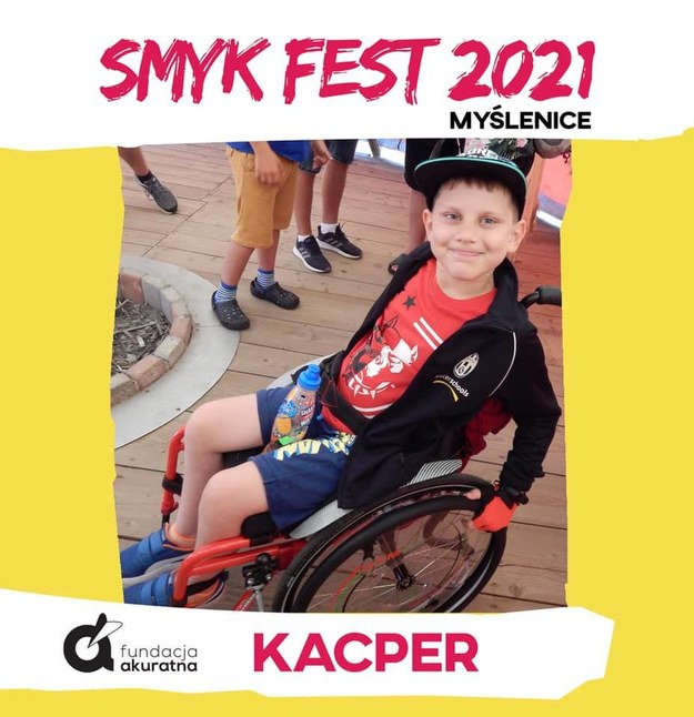 11-letni Kacper z Myślenic /Fundacja Akuratna /