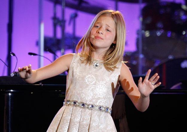 11-letnia Jackie Evancho śpiewa jak weteranka operowej sceny fot. Mike Moore /Getty Images/Flash Press Media