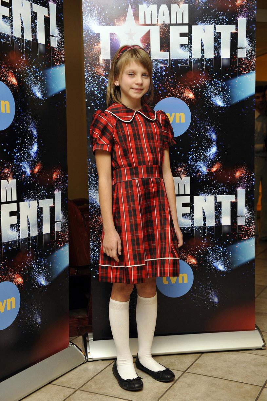 """11-letnia Klaudia Kulawik w """"Mam talent"""" /AKPA"""