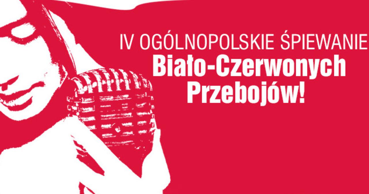 11 listopada świętujemy śpiewająco… na IV Ogólnopolskim Śpiewaniu Biało-Czerwonych Przebojów!