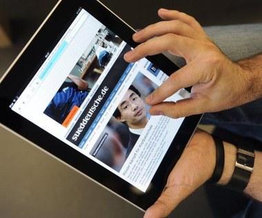 11 proc. mężczyzn woli iPada od kobiety