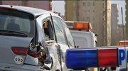 11 samochodów zderzyło się w Krakowie