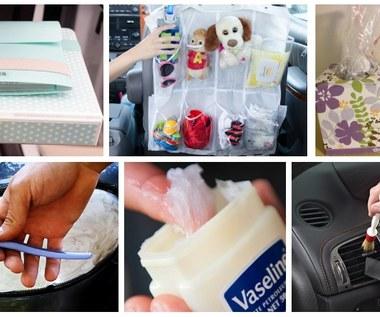 11 sposobów na posprzątanie i zorganizowanie twojego samochodu