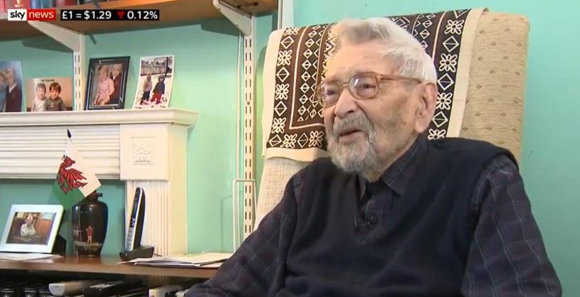 111-letni Bob Weighton /