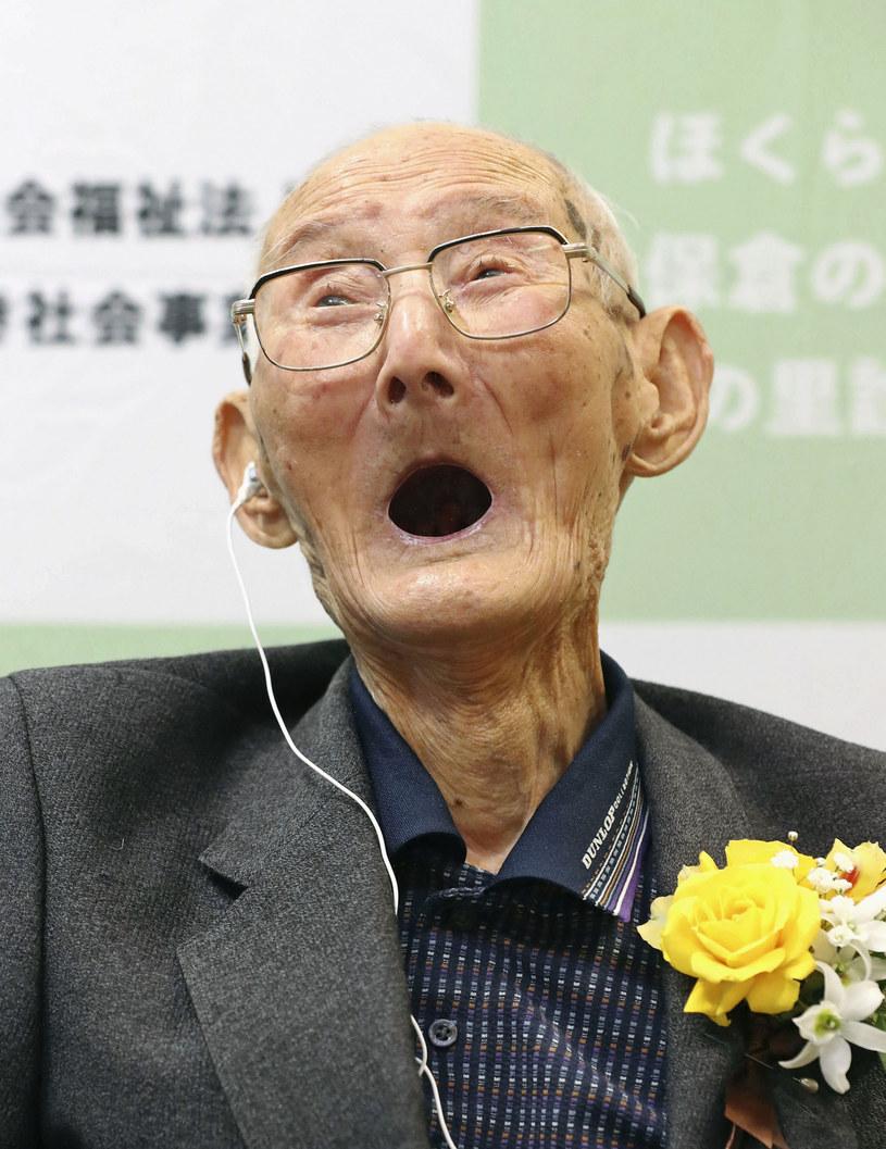 112-letniJapończyk Chitetsu Watanabe /KYDPL KYODO/Associated Press /East News