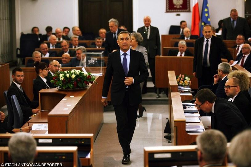 12.11.2015 Warszawa, Inauguracyjne posiedzenie Senatu RP /Stach Antkowiak /East News