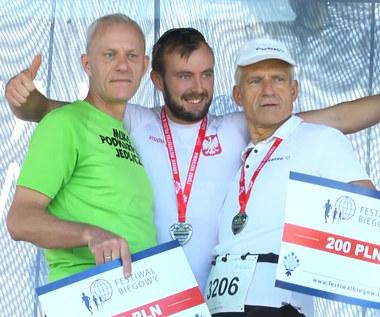12. Festiwal Biegowy w Piwnicznej-Zdroju. Górskie MP w Nordic Walkingu. Wideo