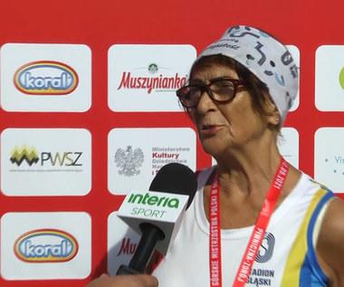 12. Festiwal Biegowy w Piwnicznej-Zdroju. Ma 83 lata i została Mistrzynią Polski. Wideo