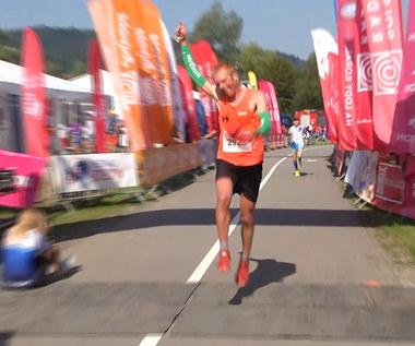 12. Festiwal Biegowy w Piwnicznej-Zdroju. Piotr Jaśtal wygrał górski bieg na 23 km. Wideo