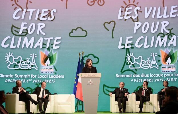 12 grudnia 2015 r. podpisano w Paryżu porozumienie klimatyczne /AFP